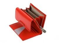 SAMSONITE Peněženka dámská LADY CHIC II kožená vybavená červená