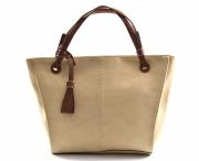 Bright Fashion kabelka dámská vělká A4 béžová