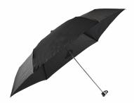 Bright Deštník mini skládací mechanický deštník černý