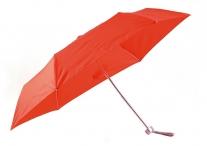 Bright Deštník skládací mechanický deštník červený