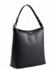 Bright Elegantní dámská kabelka menší A4 kožená černá