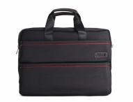 """Bright Fashion taška na notebook 14,1"""" A4 s červenými pruhy černá"""