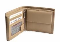 Bright Pánská peněženka kožená zapínací doklady na šířku béžová