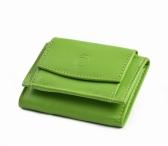 Bright Dámská mini peněženka kožená měkčí limetková