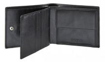 SAMSONITE Peněženka pánská SUCCESS SLG 61U-09003 na šířku kožená černá