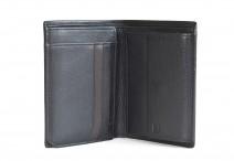SAMSONITE Pánská peněženka NYX II SLG na karty kožená černá