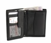 Bright Pánská peněženka kožená vybavená DOPORUČUJEME černá