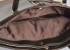 Krásná Bright kabelka na výšku velká A4 s šupinkami Shopping bag bronzovo-hnědá